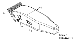 patent us8341846 hair clippers with electrically adjustable