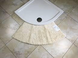 quadrant microfibre non slip medium curved shower mat bathroom quadrant microfibre non slip medium curved shower mat bathroom floor feet soft