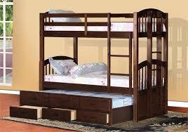 Captains Bunk Beds Santa Paula Captain S Bunk Bed W Trundle Storage Espresso