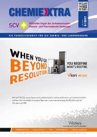 Chemiextra 6 2017 by SIGWERB GmbH issuu