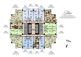 twin towers floor plans megaworld properties three central at makati city