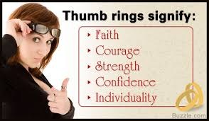 ring meaning the universal significance of thumb rings revealed