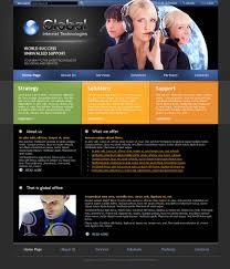 it company html template id 300110153