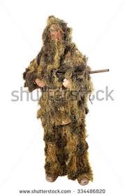 Ghillie Suit Halloween Costume Sniper Wearing Ghillie Suit Stock Photo 1792045 Shutterstock