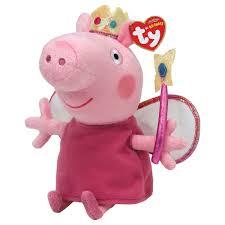 ty beanie babies peppa pig princess ebay