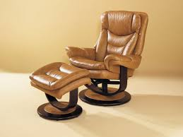 swivel recliner chair with ottoman classic two piece leather
