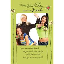 best friend u0027s birthday personalised card at best prices in india