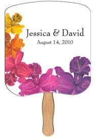 custom church fans custom imprinted wedding fans