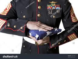 Marines Holding Flag Marine Dress Blues Holding Flag Stock Photo 76467382 Shutterstock