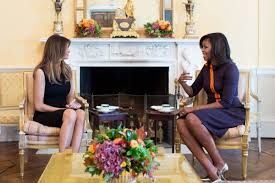 white house releases photo of michelle obama and melania trump
