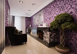 cuisine pourpre nuances de lilas à violet dans les cuisines noires