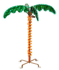 vickerman deluxe tropical holographic led rope lighted palm tree
