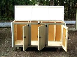 garbage pail storage garbage can storage trash bin shed bins