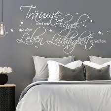 Schlafzimmer Wandtattoo Träume Sind Wie Flügel