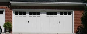 garage doors by cunningham door window 18 x 7 design 13 with faux center