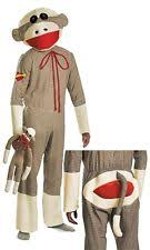 sock monkey costume disguise sock monkey costume party xl 039897286860