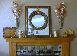 decorating the mantel designed decor