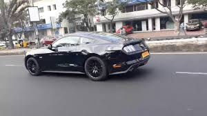 Mustang Car Black Black Ford Mustang Gt In Hyderabad 2017 Youtube