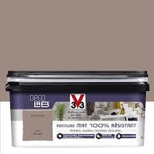 leroy merlin peinture chambre peinture brun humus v33 décolab mat 100 résistant 2 l leroy merlin