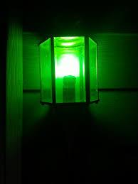 green porch light for property design porch