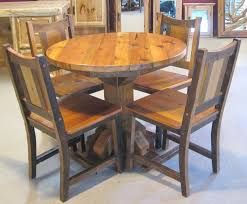 round reclaimed wood kitchen table reclaimed wood kitchen table