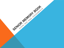senior memory book senior memory book steps and page assignments picture or senior