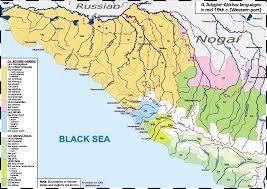 map of abkhazia atlas of the caucasian languages contents