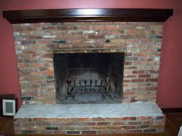 brick fireplace paint makeover ideas u2014 all home ideas and decor