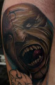 15 scary demon tattoos slodive