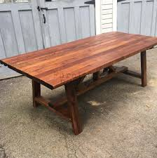 dining tables restoration hardware trestle table craigslist how