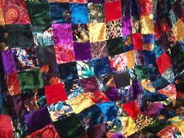 9 colorful velvet patchwork quilt top fabric classic