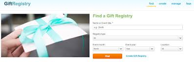 online gift registry get gifts right every time shop online gift registry