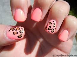 cheetah print nail designs pccala nail designs with cheetah print
