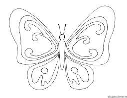 imagenes de mariposas faciles para dibujar dibujo de mariposa con tulipanes