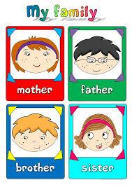 9 best esl family theme images on pinterest family theme