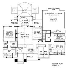 Great House Floor Plans 141 Best One Floor Ranch Bungalow Plans Images On Pinterest