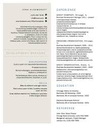 Download A Free Resume Template 10 Free Resume Templates Sunday Chapter