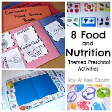 thanksgiving science activities eight food and nutrition theme preschool activities