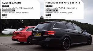 audi rs6 vs boostaddict audi 4 0 tfsi vs amg 5 5 m157 wagon on wagon