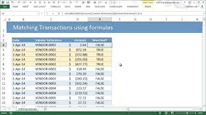 pivot table exle download matching transactions reconciling using excel pivot tables