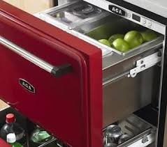 undercounter refrigerator drawer from aga