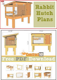 Homemade Rabbit Hutch Best 25 Rabbit Hutch Plans Ideas On Pinterest Cages For Rabbits