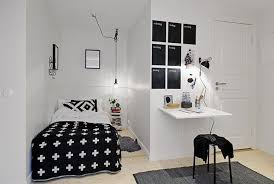Minimalist Room Design Cool Black And White Of Minimalist Bedroom Design In Small Room