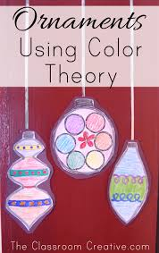 ornaments lesson using color theory
