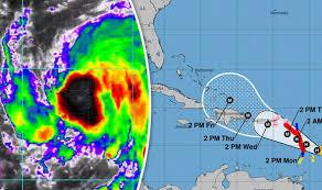 caribbean weather map hurricane will hurricane be the irma