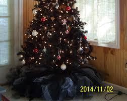 black tree skirt etsy