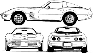 vintage corvette drawing clip art corvette clip art
