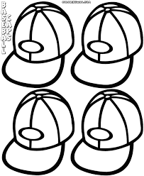 baseball cap coloring pages coloring pages to download and print
