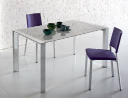tavoli da design da pranzo mod stratos fisso di sedit con gambe in alluminio varie