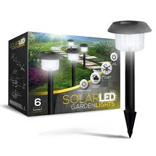 best solar landscape lights reviews review solarglow solar powered led garden lights pack of 6 youtube